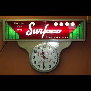 Surf Ballroom Clock