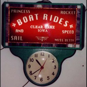 Boat Rides Clock