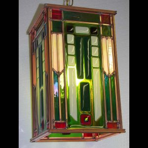 Fused Glass Lantern