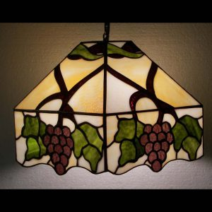 5 sided Grape Lamp