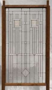 Room Divider with FLW tiles