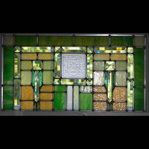 Mission window with FLW tile