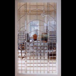Beveled Room Divider