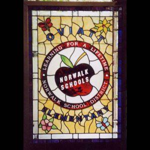 Norwalk School window