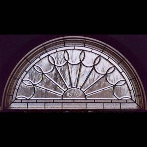 Arched Beveled Window